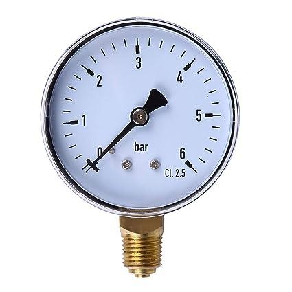 Medidor de presión, medidor, compresor de aire, TS-60, profesional ...