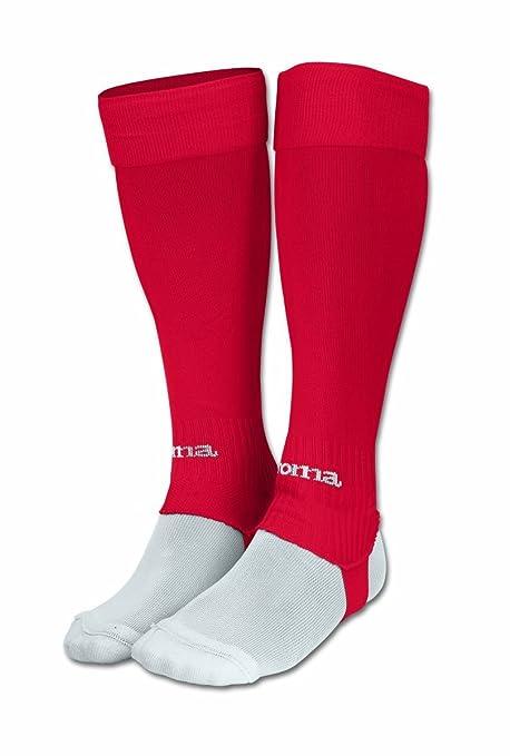 Joma sport - Joma leg medias sin pie, unisex, color rojo, talla m