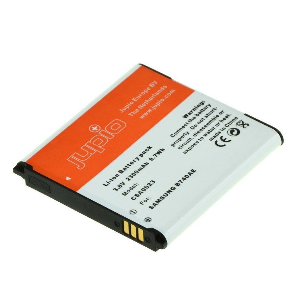 Jupio CSA0023 - Batería para cámara de Fotos Equivalente a Samsung B740AU/B740AE para NX Mini/S4 Zoom (Lithium Ion, 2300 mAh)