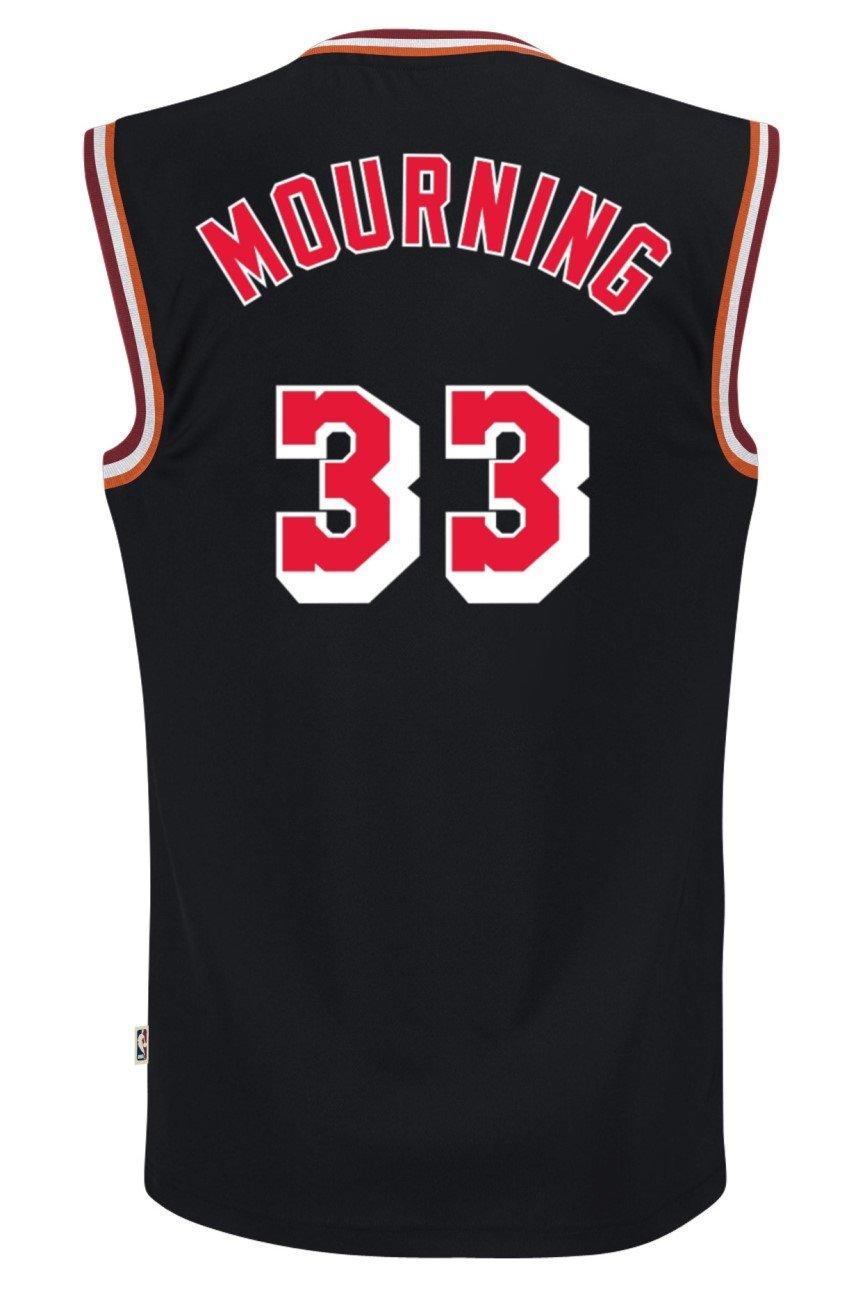 Amazon.com   Miami Heat Alonzo Mourning Black Adidas Soul Swingman Jersey    Sports   Outdoors 87e50bd34