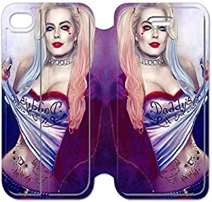 Leather Smart Cover With Flip Stand Phone Case iphone 6 6S 4.7 inch-Harley Quinn-41