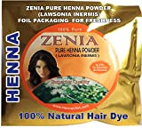 1 Lb Zenia Brand Pure Rajasthan Henna Powder 2011 crop (MANUFACTURED / PACKED AND SOLD ONLY BY AMAZON SELLER HERBAL BEAUTY SUPPLY)