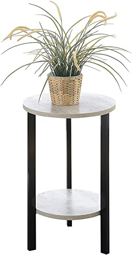 Convenience Concepts Graystone Plantstand, 24 , Faux Birch