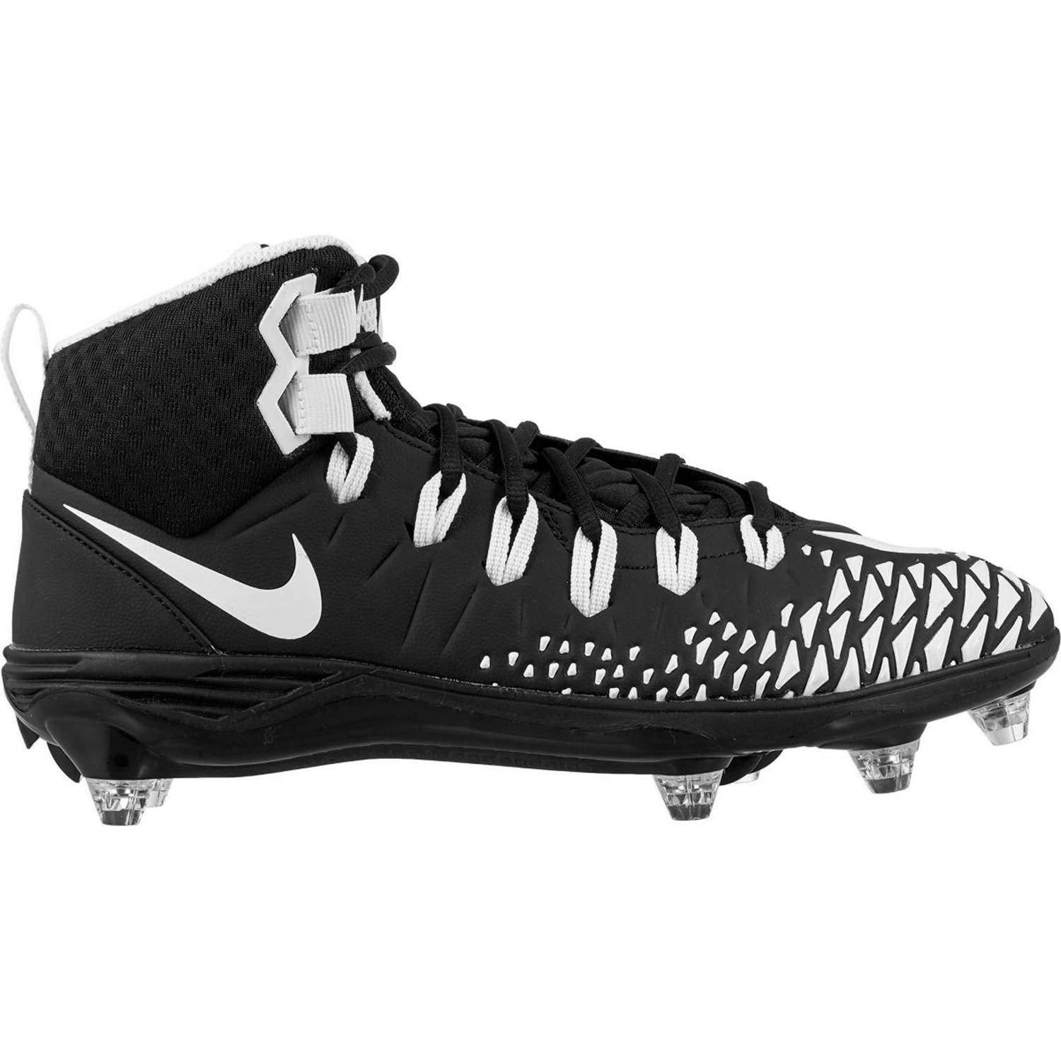 Nike Force Savage Pro D Men's Football Cleats 黒/白い/黒/黒 Size 11