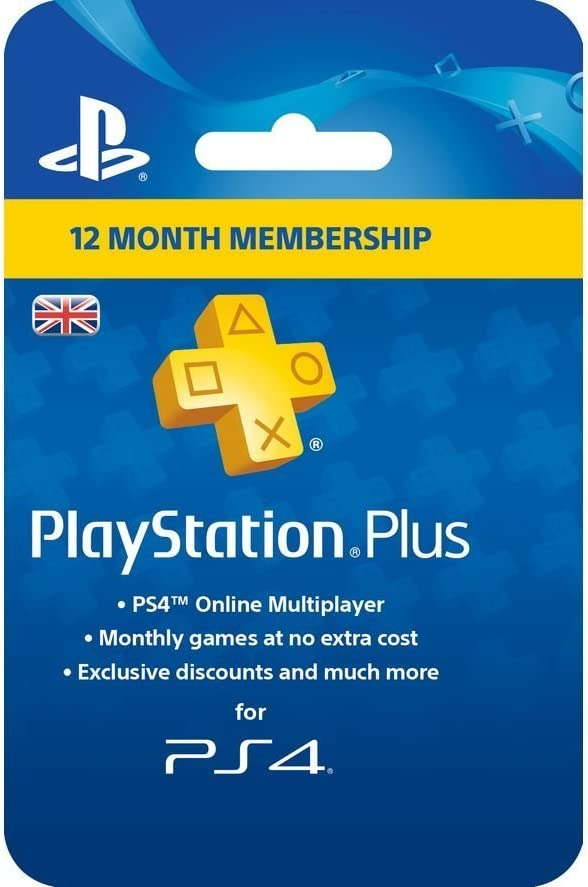 Sony PlayStation Plus Card - 365 Day Subscription (PlayStation ...