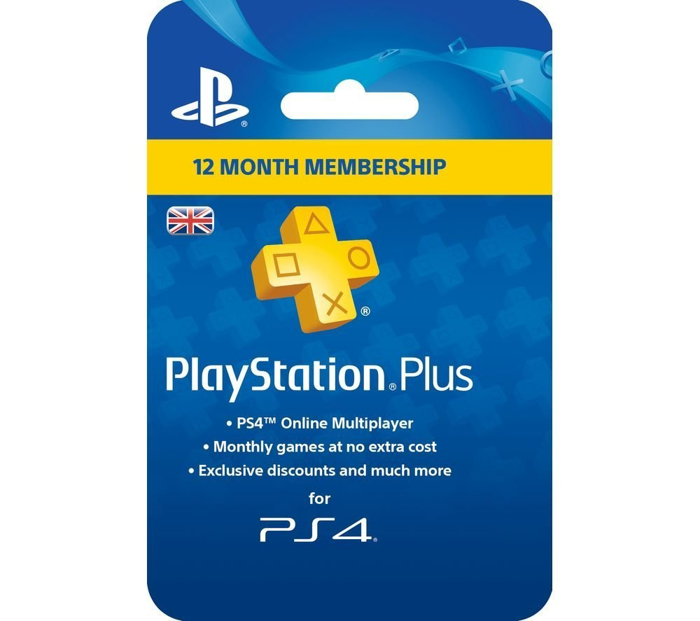 Sony PlayStation Plus Card - 365 Day Subscription (PlayStation Vita/PS3/PS4) (New)