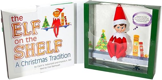 Elf en el estante plushee PAL-Boy /& Girl Bundle-Santa /'s Store