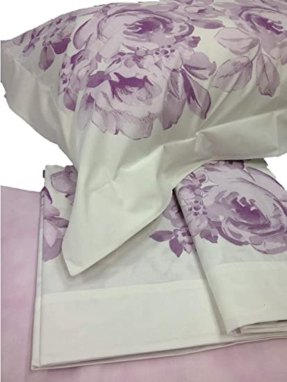 Gabel Lenzuola Matrimoniali Prezzi.Gabel Parure Completo Set Lenzuola Matrimoniale In Puro Cotone Percalle Gabel Amazon It Casa E Cucina