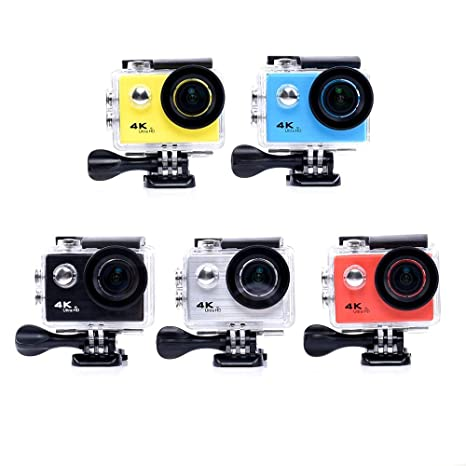 Amazon.com : andoer f71r Action Camera Digital 4k WiFi 1080p hd Action Camera Sports dv 30m Underwater Waterproof Helmet cam Camera : Camera & Photo