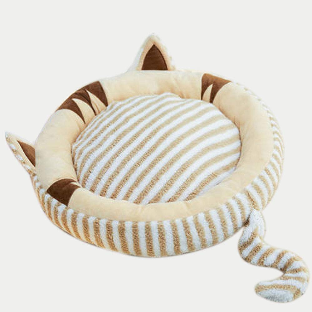 Outer Diameter 65cm A Outer Diameter 65cm A Small Pet Nest, Kennel Small Dog Cat Nest Four Seasons Universal Removable And Washable Cushion Cat Dog Bed Pet Supplies