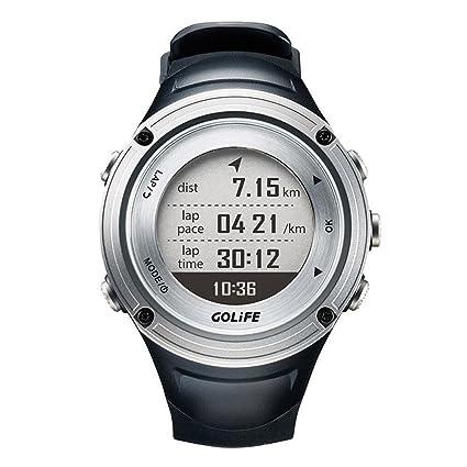 OOLIFENG GPS Relojes Impermeable Aventuras Deporte al Aire Libre Reloj Inteligente para los Hombres Nadando Alpinismo