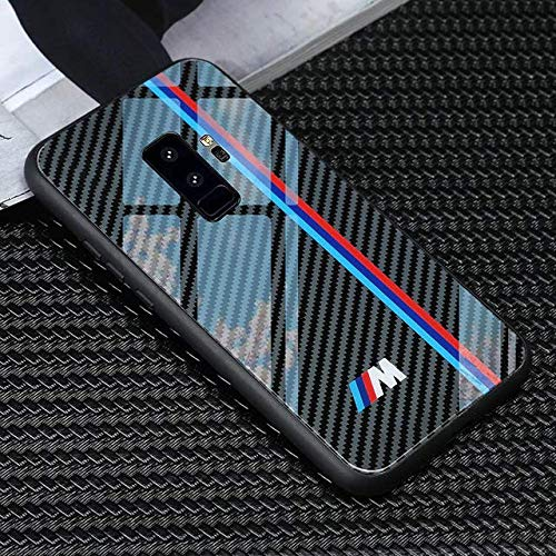 huge selection of 91226 55422 Carbon Fiber Tempered Glass Case for iPhone 7,X,7 Plus,8,8 Plus,Samsung  Protection Stylish M Sports Performance (M Sport Performance, Samsung 8)