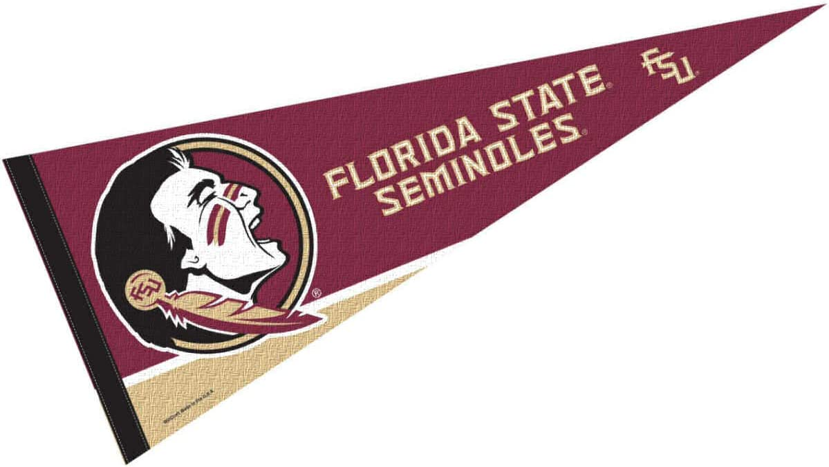 College Flags & Banners Co. Florida State Seminoles Pennant Full Size Felt