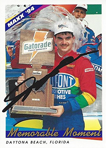 Autographed Jeff Gordon 1994 Maxx Racing Memorable Moments
