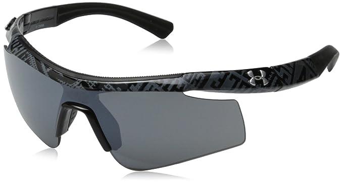 1a4578f7ea5d6 Amazon.com  Under Armour Dynamo Youth 8600067-008801 Sunglasses ...