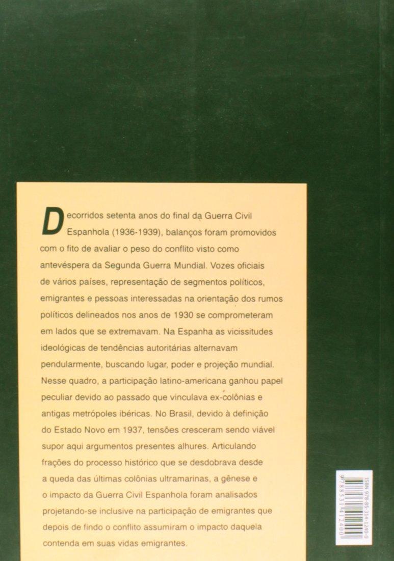 Guerra civil espanhola : 70 anos depois.: Jose Carlos Sebe Bom Meihy: 9788531412400: Amazon.com: Books