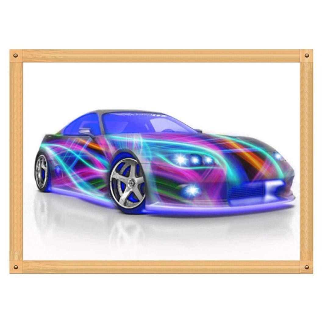 A Cars 5D Diamond Painting DIY Cross Stitch Kit Crystals Wall Art Decor 5D Diamond Painting Rhinestone Pictures Embroidery Arts Home Decor Staron/® 5D Diamond Painting Kits