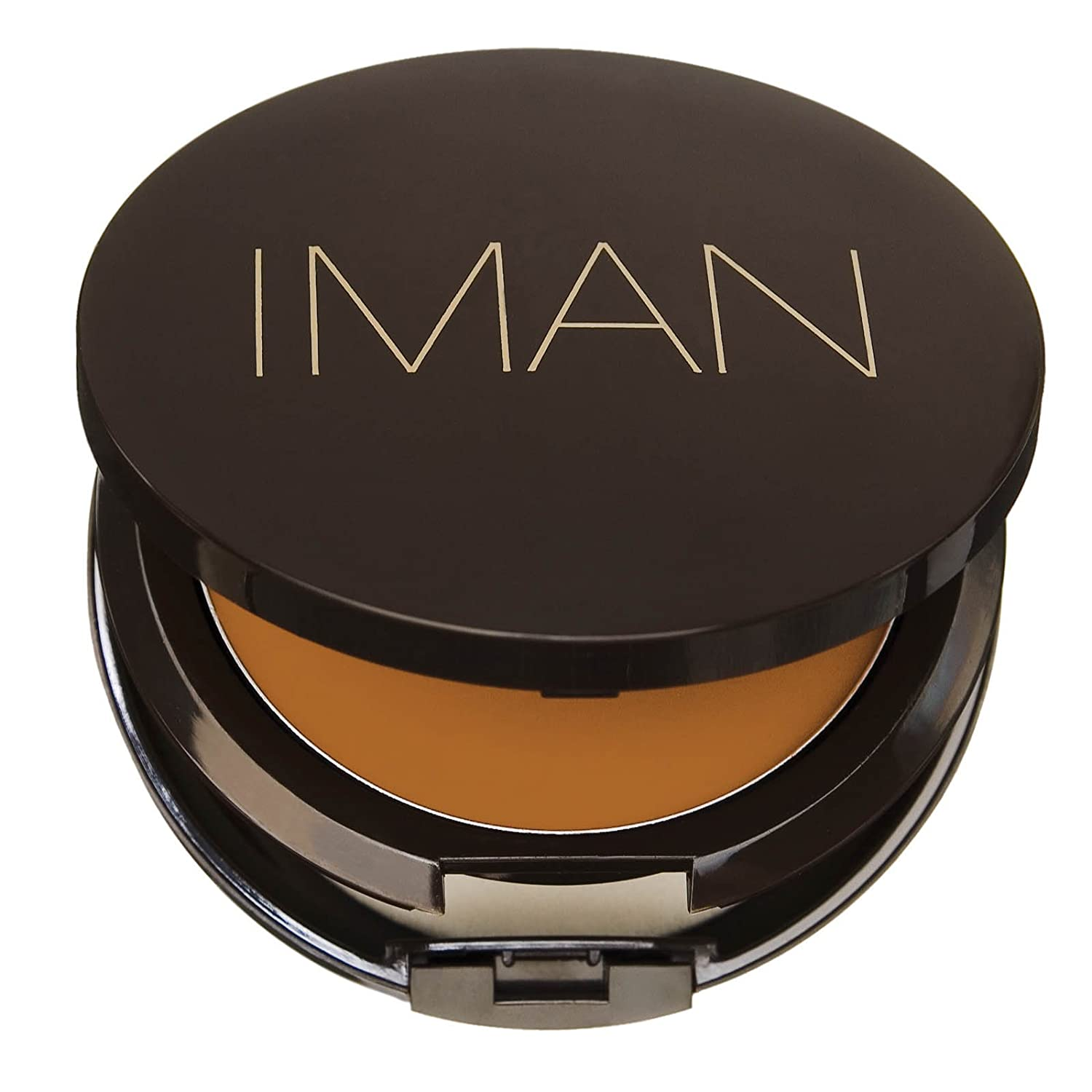 IMAN Cosmetics Second to None Cream to Powder Foundation, Earth 1, 0.35 Ounce 00127
