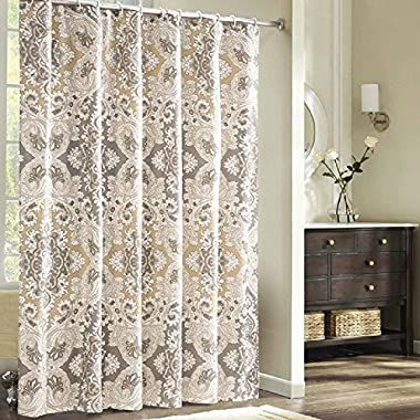 Ufaitheart Rome's Life Pattern Extra Long Shower Curtain Polyester Waterproof Fabric Shower Curtain 78 x 96 Inch