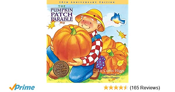 graphic regarding Pumpkin Patch Parable Printable titled The Pumpkin Patch Parable: Unique Variation (Parable Collection