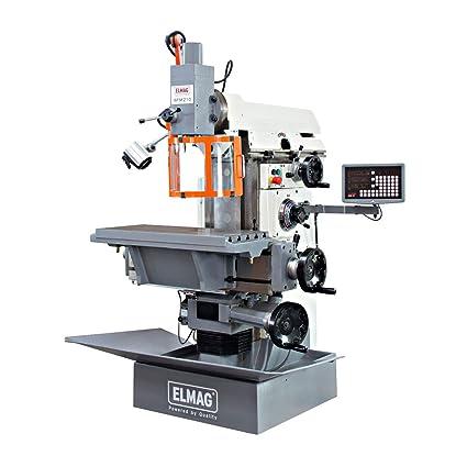 Elmag - WFM 210 - herramienta de-fresadora 400 V