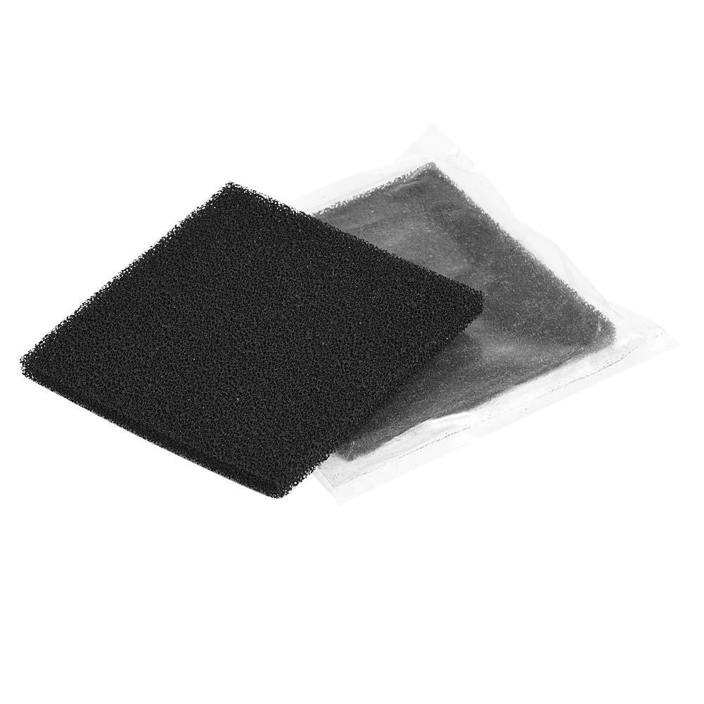 10 filtros de carbón activado para soldar, esponja para soldar humos y extractores de humo, 13 cm x 13 cm
