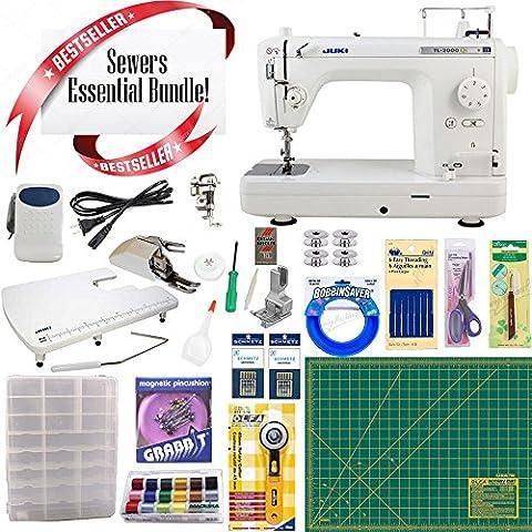 Juki TL2000QI Long-Arm Sewing & Quilting Machine w/ Sewing essential Bundle - Long Arm Quilting