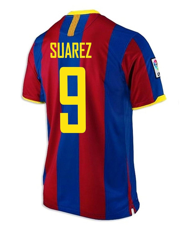 Suarez # 9 FC Barcelona Home Jersey B00VS6NPJ8XL