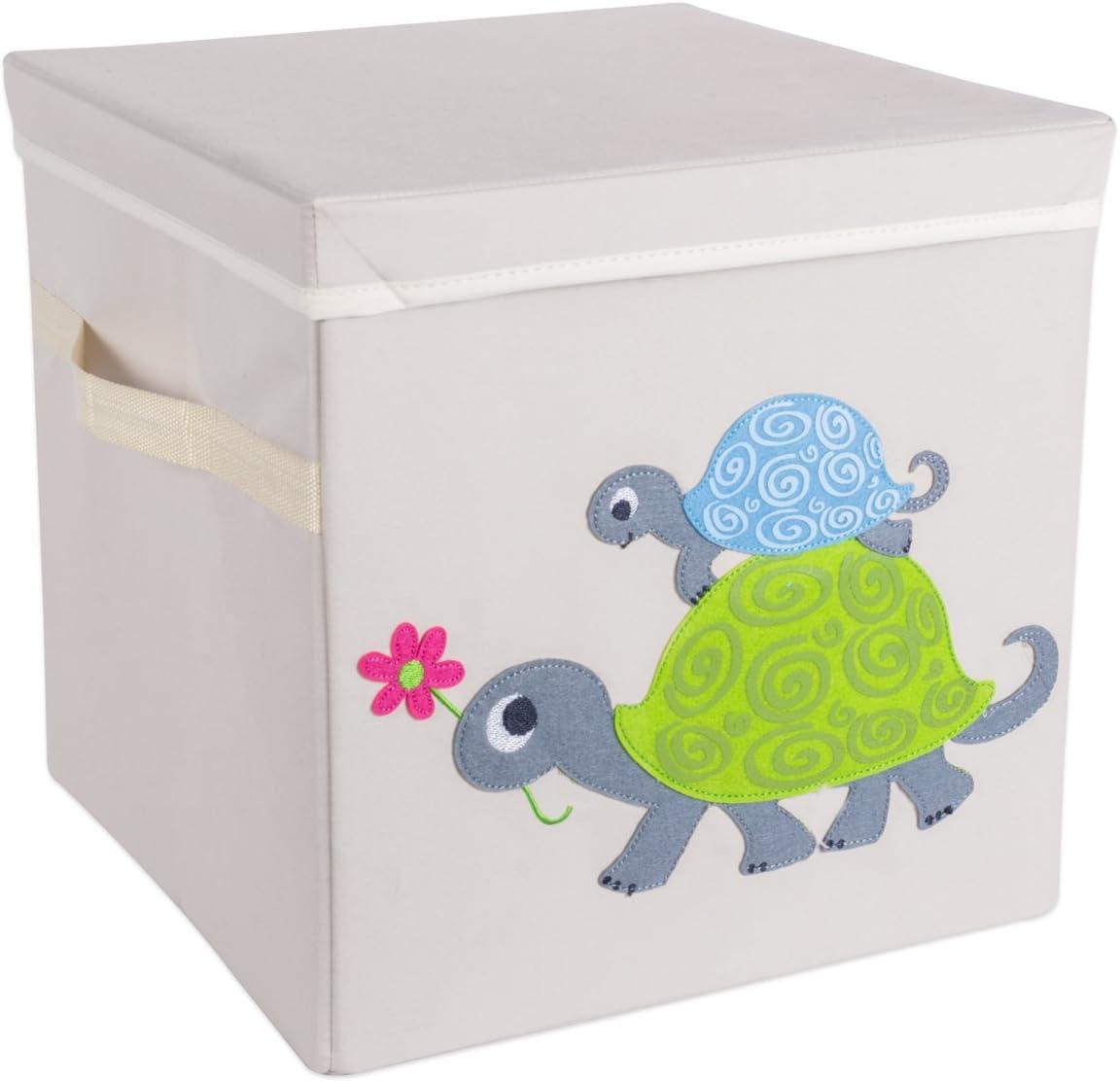 Cube Organizers, 13 x 13 x 13 -Monkey Clothing DII Nursery Storage Bin for Toys Books