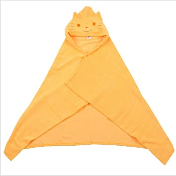mcnen bebé toalla de baño con capucha, fabricado con 100% suave algodón grande 43