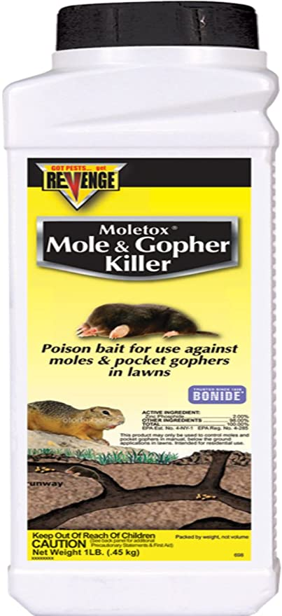 BONIDE PRODUCTS INC 1 LB MOLETOX, Mole & Gopher KILLER