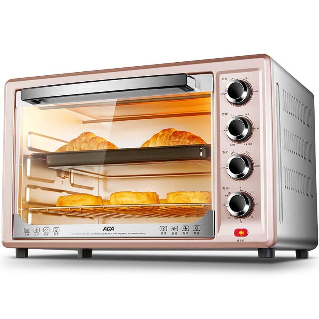33L対流式オーブントースター、クリスタルダイヤモンドライナー付きオーブン、電気オーブントースター、オーブンミットパン、ロティサリーオーブン、子供用簡単オーブン、ピンク   B07MRL82PT