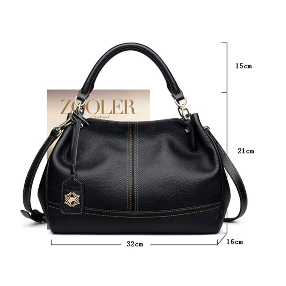 1dee38fa646 XDDQ Handbags For Ladies,Women Fashion Handbag,Leather Handheld Single  Shoulder Bag Lady Bag European And American Fashion Leather Female Bag Wine  Red/ ...