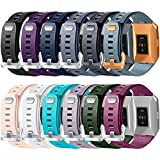 Wepro Fitbit Ionic Watch Band - Bands Replacement Sport Strap Accessory for Fitbit Ionic Smartwatch - Small - 12 Colors