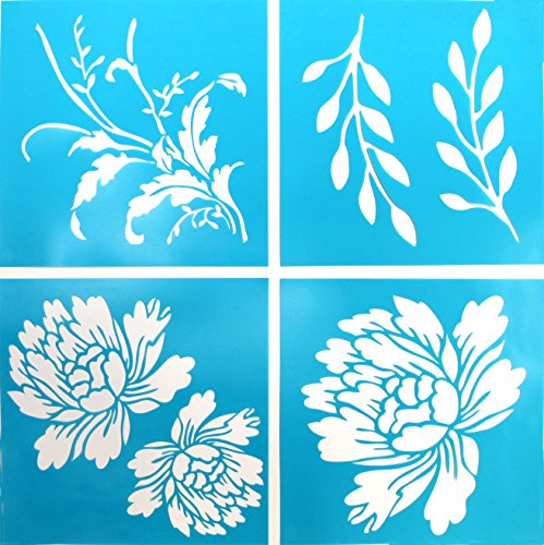 Martha Stewart Crafts 33558 Martha Stewart Vintage Decor Stencils, Blossom by Martha Stewart Crafts