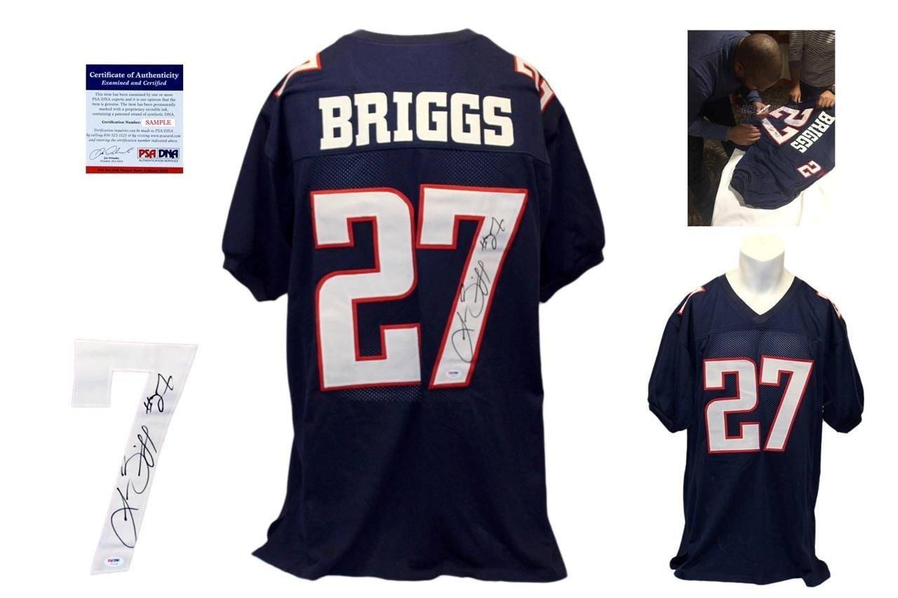Lance Briggs Autographed Custom Jersey -PSA/DNA - Autographed - College