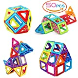 SASRL Magnetic Blocks Toys Educational Building Tiles Blocks Stack Toys Set -50Pcs