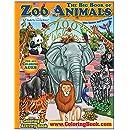 Zoo Animals Giant Super Jumbo Coloring Book