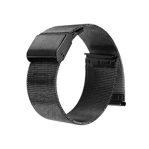 33 opinioni per WINOMO 22mm Watch Band orologio cinturino estremità diritta maglia Bracciale in
