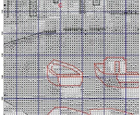 Niña y gato de punto de cruz Kits, Kits de bordado, 237 x ...