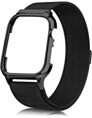 Compatible for 38Mm 40Mm 42Mm 44Mm Apple Watch Strap, Band with Screen Protector Cover for Wristband for Iwatch Series 5/4/3/2/1, Sport