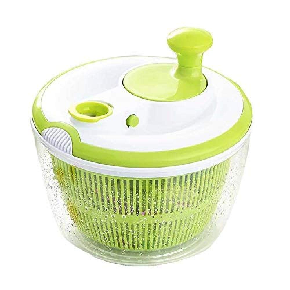 SJXmeet Hand Shake Dehydrator Salad Spinner Vegetable Dryer Large Capacity Water Machine Commercial Dewatering Bucket Salad Dry Drain Bucket by SJXmeet
