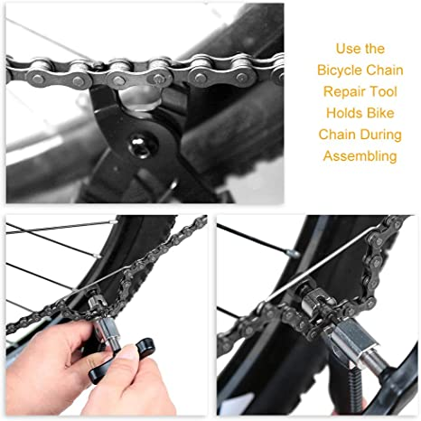 Portable Reusable Bicycle Mountain Bike Chain Quick Release Buckle Remover Safe