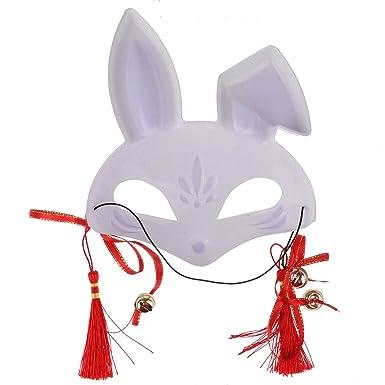 IEFIEL Máscara de Zorro De PVC para Carnaval Halloween ...