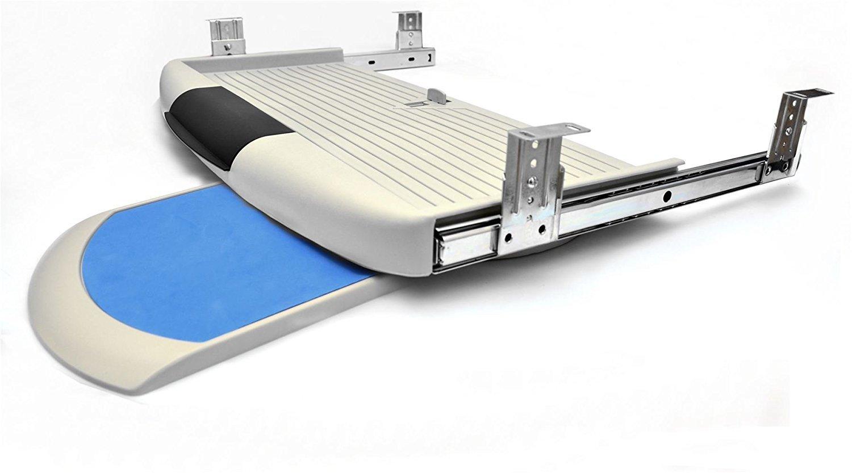 Kit de clavier tiroir Rails coulissant tiroirs tiroir montage gris S GTV