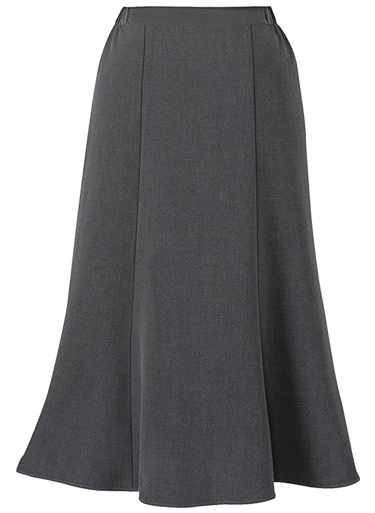 1930s Style Skirts : Midi Skirts, Tea Length, Pleated AmeriMark Gored Skirt  AT vintagedancer.com