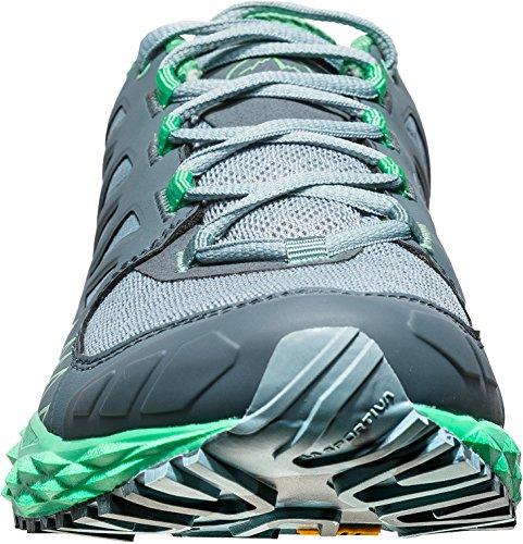 La Sportiva Mutant Dames Trailrunning Schoenen - Ss18 Lycan Woman Stone Blue / Jade Green Talla: 39