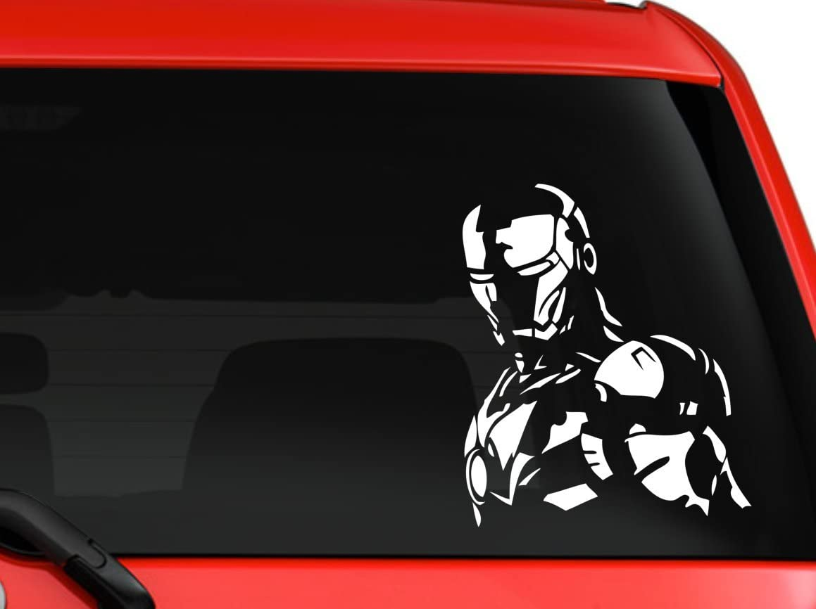 1pc Personalized Reflective Iron Man Car Body Stickers Accessories The Avengers Scratch Ironman Car Door Exterior Decoration Car Body Sticker Car Doorcar Exterior Decoration Aliexpress