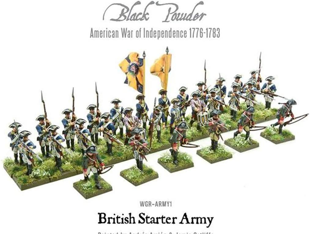 Warlord Games American War of Independence 1776-1783 Continental Army Starter...
