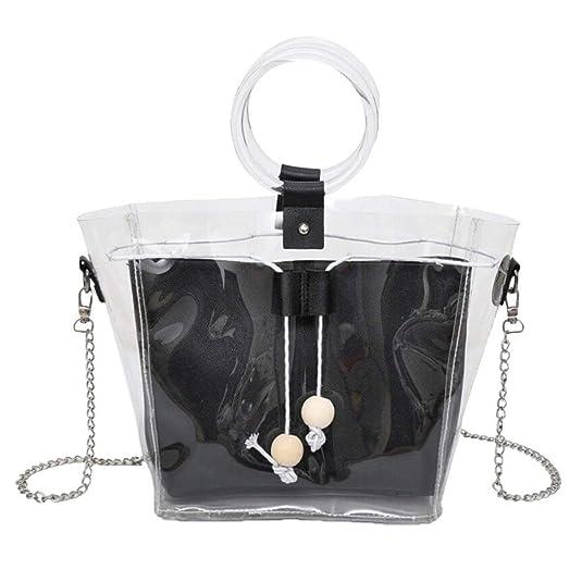 Amazon.com: Women Shoulder Bag Messenger Satchel Tote Crossbody Bag Phone Bag Bucket Bag mini Crossbody bolsos mujer de marca famosa #75 Color Black ...